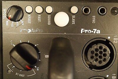 Used Profoto 7A 2400ws Strobe Pack With AC cord.  Excellent condition