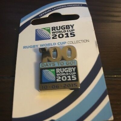 Rugby World Cup 2015 Pin Badge - rare