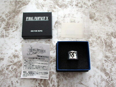 Final Fantasy SQUARE ENIX Japan Official Sterling Silver Ring FF X Tidus US6 1/2