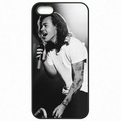 Harry Styles One Direction 1D For iPhone X 5 5S SE 6 6S 7 8 Plus Phone Case