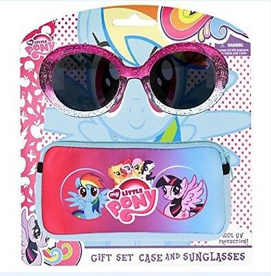 My Little Pony Glittery Sunglasses With Soft  Case