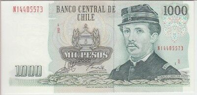 CHILE BANKNOTE P154f 1000 1,000 1.000  PESOS 2000 REPLACEMENT, UNC