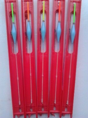 5 Hand made SENSITIVE BREAM pole rigs. IDEAL FOR SKIMMERS UP TO 4LB.