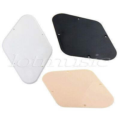 3 Pcs Cavity Cover Back Plate for Electric Guitar Parts Replacement