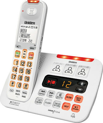 New Uniden - SS E45W - Sight & Sound Enhanced Cordless Phone