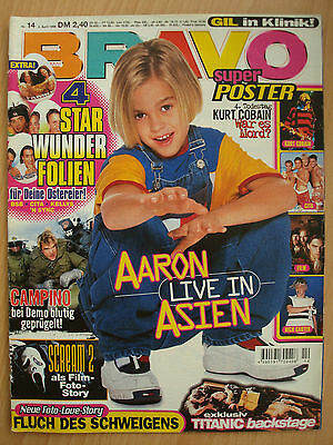 BRAVO 14 1998 Aaron Nick  Carter Kurt Cobain CITA Kelly Family Campino Take 5