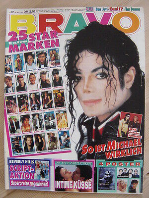 BRAVO 12 1993 Michael Jackson Depeche Mode David Hasselhoff Richard Grieco @