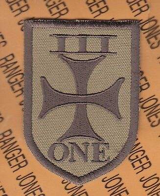 """US NAVY SEAL TEAM 3 1st Platoon OIF Iraqi made Foreign made 3.75"""" patch Coyote"""