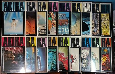 AKIRA #1-37 Complete Run! Great condition!