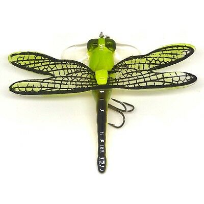 Popper Fishing Bait Lure Life-like Dragonfly Floating NEW