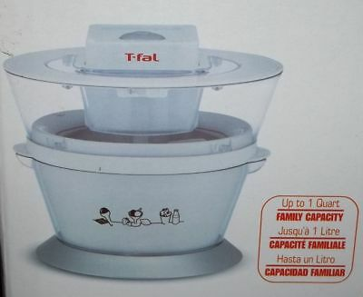 T-fal Ice Cream Maker- Model IG4001, NEW