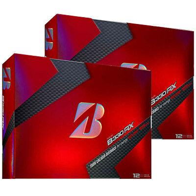2 Dozen Brand New 2017 Bridgestone Tour B330-Rx Golf Balls
