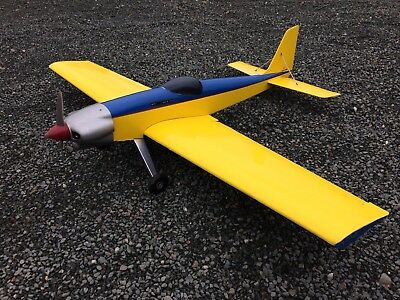 Acro wot rc plane with irvine glow engine