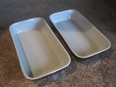 Denby - Homestead - Hor's d'oeuvres Dishes / Serving Dishes - Set of Two