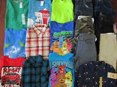 Boys SCHOOL FALL WINTER Sz 10 12  Lot CLOTHES & OUTFITS  TCP Old Navy Urban Vans