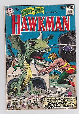 Brave and the Bold #34 - first Silver Age Hawkman! Justice League movie soon!