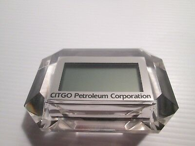 Citgo Oil Co. Desk Clock
