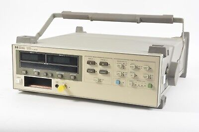 HP Agilent Keysight 8508A Vector Voltmeter Opt. 001 - Bail Handle and Bumpers