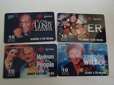 1994 NBC Fall Lineup Phonecards Expired Cosby Mysteries, ER, Gene Wilder