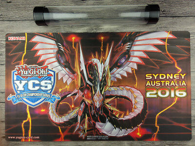 2016 YuGiOh Cyber Dragon Infinity Playmat Trading Card Game Mat Free Best Tube