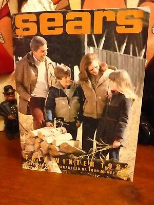 Vintage 1983 Fall / Winter SEARS Catalog ~ Smurfs Star Wars Return of the Jedi +