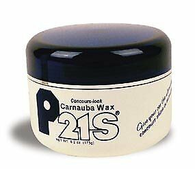 P21S Concours Carnauba Wax 6.2 ounce, best shine, non-powdering, no white stains