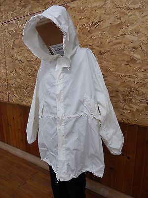 Military Snow Camouflage White Camo Winter Jacket Coat Parka XL, good cond