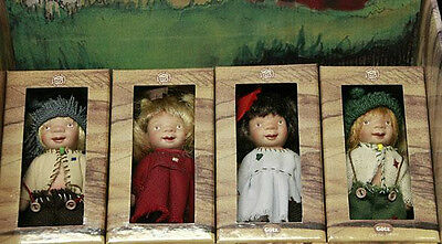 Gotz, Trollchen - Set of Four Dolls by Suzi Eimer