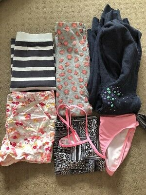 Girls Bulk Clothing Sz 8-10 Inc Milkshake. Swimmers ,Shorts,Hoodie,Skirt,legging
