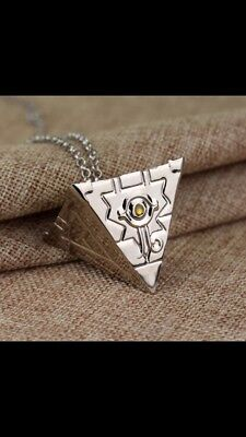 Yugioh! New Millennium Puzzle Pendant Style Necklace In Silver! Cosplay