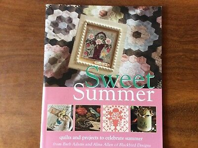 "BOOK ""SWEET SUMMER"" by BLACKBIRD DESIGNS FEATURING  A VARIETY OF TECHNIQUES."