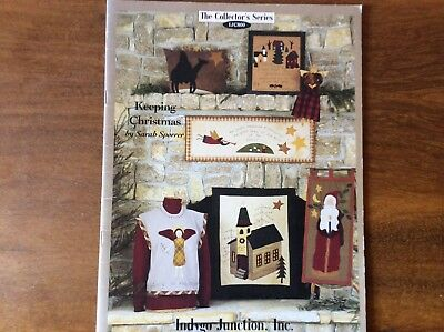 "BOOK "" KEEPING CHRISTMAS"" by SARAH SPORRER OF INDYGO JUNCTION ,INC."