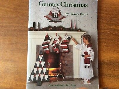 "Book "" Country Christmas  By Eleanor Burns  Featuring Lots Of Projects For Chris"