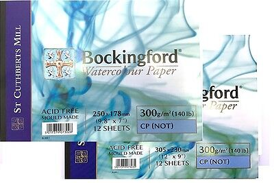 Bockingford Watercolour Paper Pad 300gsm - Cold Pressed