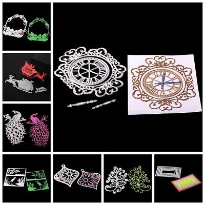 DIY Cutting Dies Scrapbooking Embossing Stencils Tagebuch Stanzschablone Decor