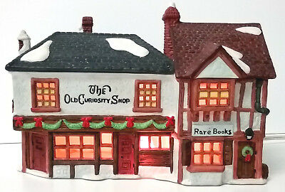 The Old Curiosity Shop And Rare Books # 59056 Retired Dickens Village Dept 56