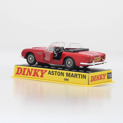 1:43 Dinky toys ATLAS 110 Aston Martin DB5 Diecast RED CAR MODEL RARE COLLECTION