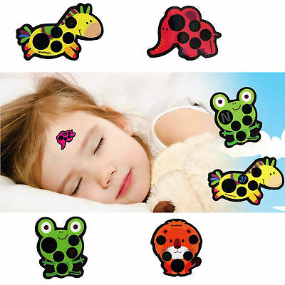 Fevermates Stick-On Fever Forehead Temperature Indicator Thermometer Stickers