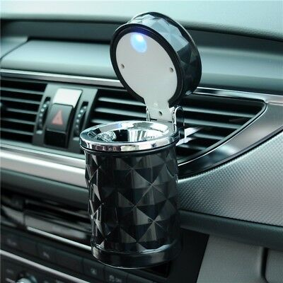 Luxury Car Accessories Portable LED CarAshtray High Quality Universal Cigarette