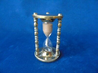 Late 19th/Early 20th c Brass Egg Timer -  Egg Timer - Antique Timer  Kitchenalia