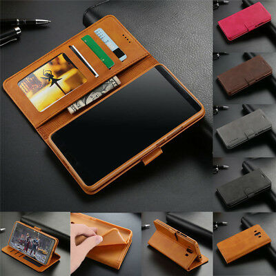 For Huawei Mate 20 10 Lite P30 P20 Pro Magnetic Leather Wallet Card Case Cover