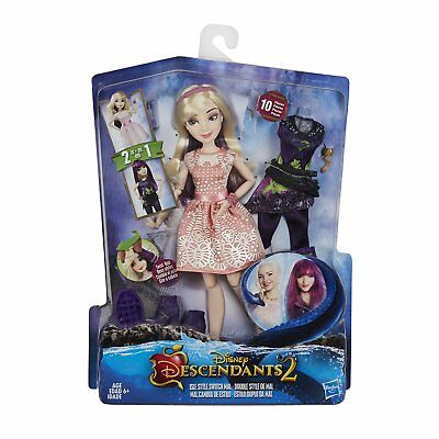 Disney Descendants Isle Style Switch Mal Doll Brand New