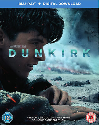 Dunkirk (Blu-ray) Tom Hardy, Cillian Murphy, Mark Rylance, Kenneth Branagh