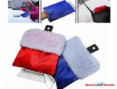 VEHICLE SNOW CLEAN TOOL WITH GLOVE CAR Ice Deicing Shovel Scraper Removal