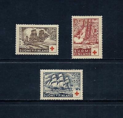 FINLAND _ 1937 'RED CROSS' SET of 3 _ mh ____(505)