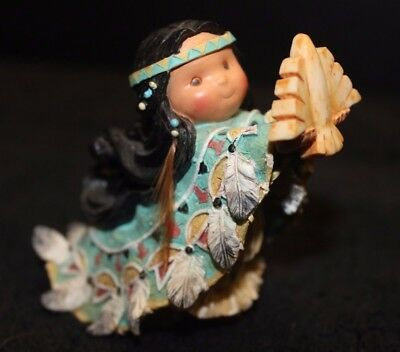 Enesco Friends of the Feather One Who Lifts Spirits Figurine