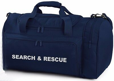 1 x SEARCH & RESCUE Navy Holdall/Work Bag Ideal for RNLI