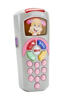 Fisher-Price Laugh & Learn Baby Toy Smart Remote