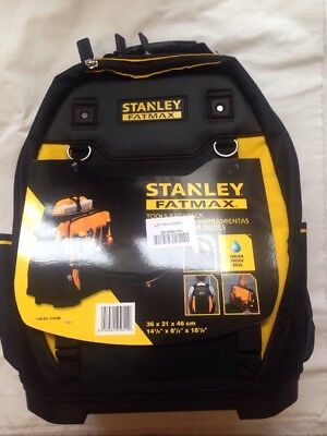 Stanley 195611 Fatmax Tool Backpack Energy Class A B'day, Fathers Day Gift BNIP