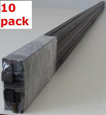 "Metal 1/4"" Solid Square Bars Hot Rolled Mild Steel Wrought Iron Fabrication Rods"
